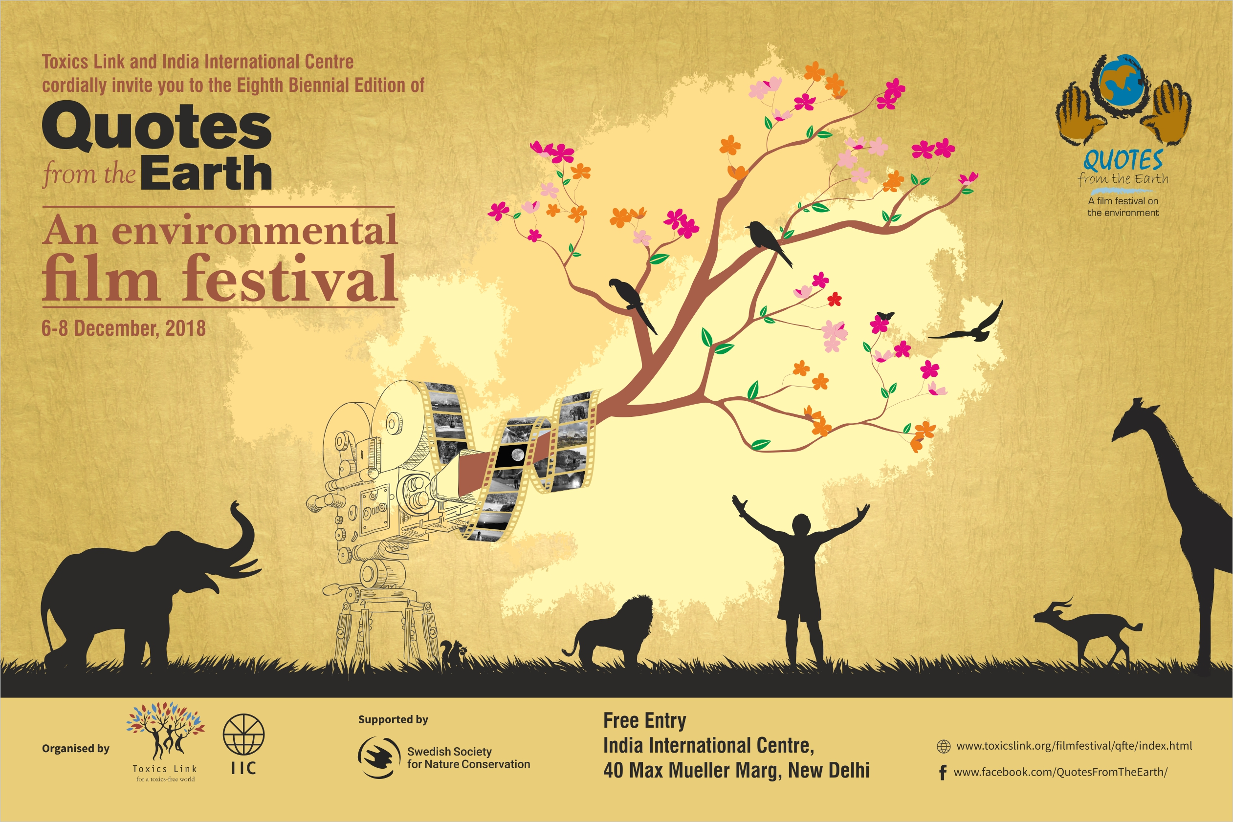 Quotes from the Earth |An Environmental Film Festival 2018