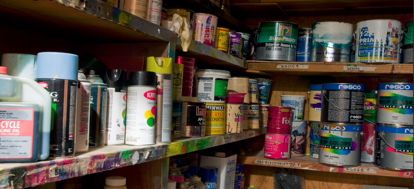 Can You Store Used Paint Cans Or Aerosol